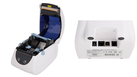 Принтер этикеток и чековый принтер MPRINT LP58 EVA