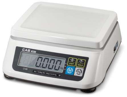 Порционные весы CAS SWN 3/6/15/30 кг