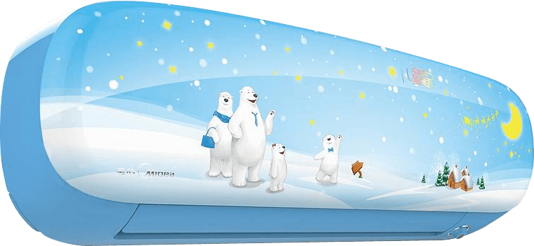 "Кондиционер Midea серия ""Kids Star"""
