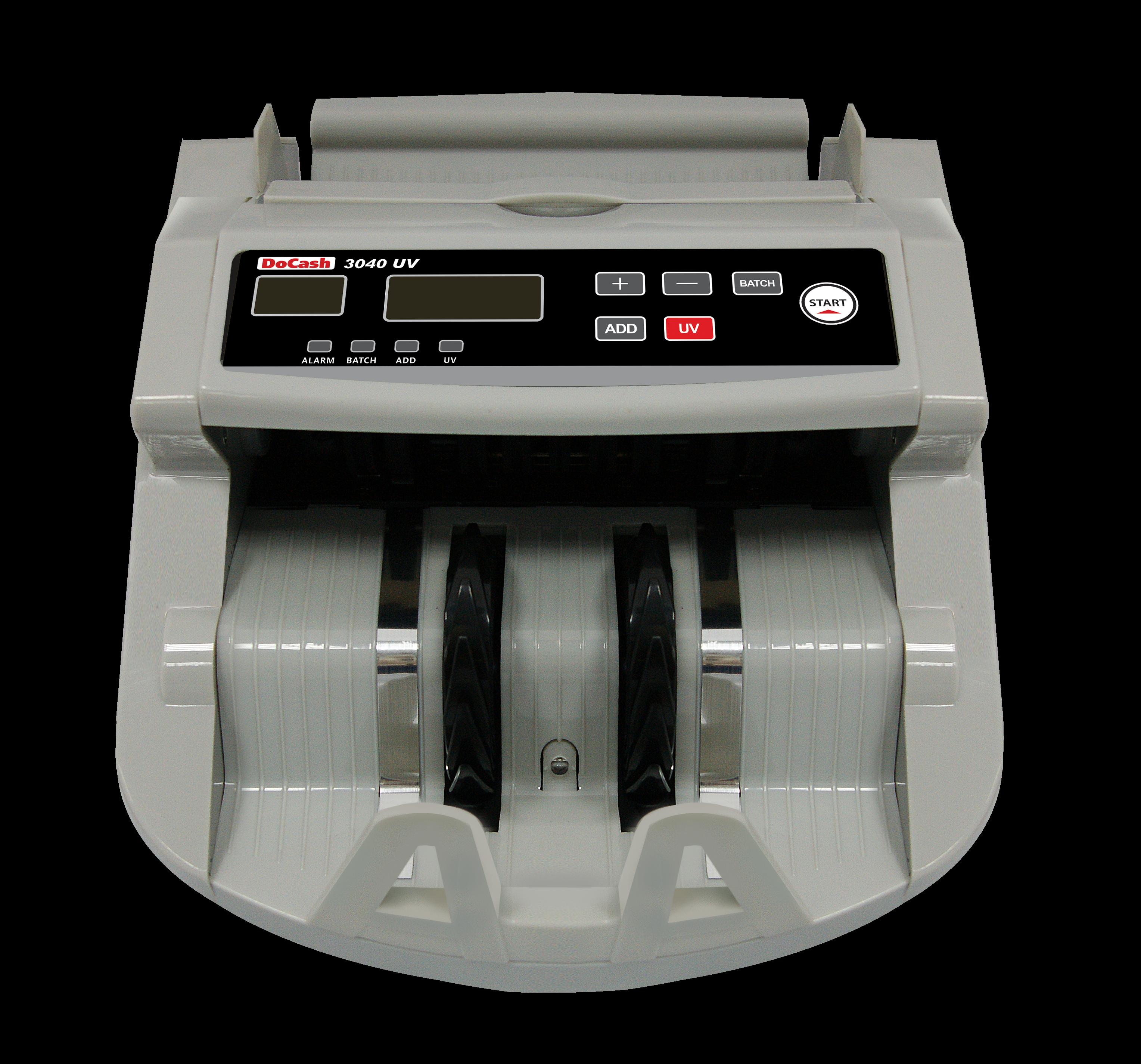 Счетчик банкнот задней загрузки DoCash 3040 UV