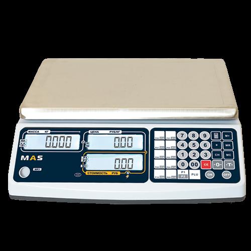 Торговые весы MASter MR1 – 6, 15, 30 кг