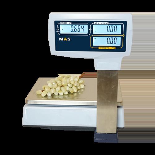 Торговые весы MASter MR1P – 6, 15, 30 кг