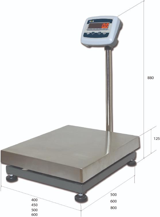Товарные площадочные весы ProMAS PM1E